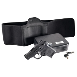 Smith & Wesson M&P Bodyguard Defense Kit, .380 ACP, 6rd, 2.75, Bellyband Holster & Vault (G55708)